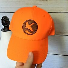 NWOT Gander Mountain Men's Blaze ORANGE BALL CAP Hat Hunting Duck Adjustable