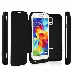 3200mAH External Backup Battery Rechargeable Power Case For Samsung Galaxy S5
