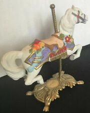 Tobin Fraley American Carousel Horse Second Edition Brass Base #8315
