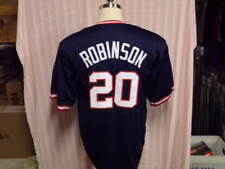 d36c6b4f0db FRANK ROBINSON UNSIGNED T B BLUE CLEVELAND INDIANS JERSEY HOF 82