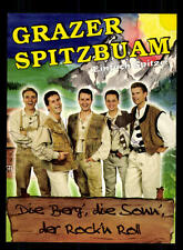 Grazer Spitzbuam Autogrammkarte Original Signiert ## BC 95865