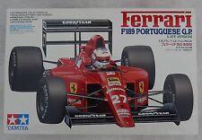 Tamiya Ferrari F189 PORTUGUESE G.P. 1/20 Scale Tamiya Model Kit 20024 Japan