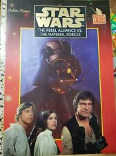 Vintage Star Wars The Rebel Alliance Vs The Imperial Forces Puzzle Book