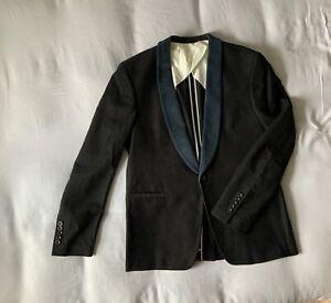 Mens NN07 No Nationality Dinner Jacket Velvet Large 52