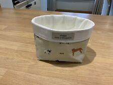 Sophie Allport Woof Fabric Handmade Storage Tub