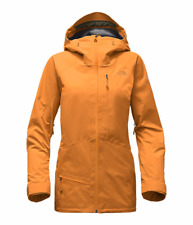 NWT WOMENS THE NORTH FACE FREE THINKER JACKET L $600 Citrine Yellow GORE-TEX