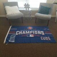 Chicago Cubs 2016 Champs Wall Banner Flag New 3x5 Ft