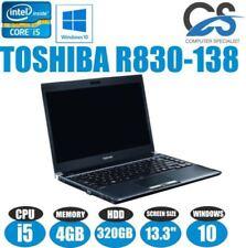 Portátiles y netbooks portátil Toshiba con 320GB de disco duro