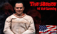 1/6 The Silence of The Lambs Dr. Hannibal Hopkins Figure Full Set USA IN STOCK