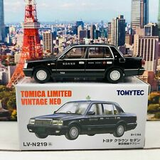 Tomytec Tomica Limited Vintage Neo 1/64 Toyota Crown Sedan Tokyo Radio Taxi (Bla