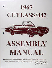 1967 Olds Supreme Cutlass F85 and 442 Assembly Manual 67 Oldsmobile Factory