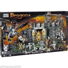 Mega Bloks Dragons Hechiceros guarida 9886 Raro Coleccionable Nuevo Y Sellado
