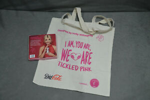 Coca Cola Diet Coke Shopping Tote Bag By Holly Willoughby Tickled Pink Brand New