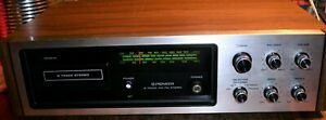 Pioneer H-2000 Vintage 8-Track Stereo Receiver - Working Well