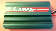 Us Amps Vl-100 Rare Old School 2-Channel Power Amplifier. Made In Usa!