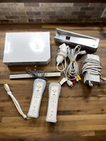 Nintendo Wii White Video Game Console Bundle GameCube Compatible With Games