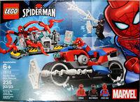 LEGO ~ SPIDER-MAN BIKE RESCUE ~ Miles Morales, Carnage+ (Set #76113) ~ New