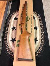 Remington Model 7 Seven Factory Wood  Stock W/ Rubber Butt Pad