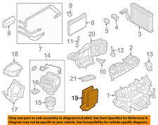 BMW OEM 12-17 CABIN AIR FILTER SET OF 2 FILTERS 64119272642