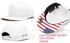 Mercedes Benz F1 Lewis Hamilton USA American Grand Prix Gorra GP 2017 especial e