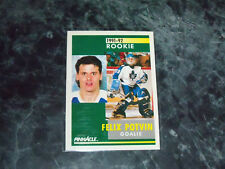 felix potvin (toronto maple leafs-goalie)1991/92 pinnacle ROOKIE card #345 mint
