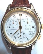 Orologio Philip Watch uomo crono data cassa acciaio bicolore movimento svizzero