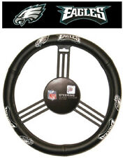 Philadelphia Eagles Leather Steering Wheel Cover [NEW] NFL Car Auto Truck CDG