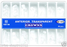 Dental Transparent Crown Anterior matrices matrix  64 pcs