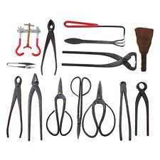 High Quality Bonsai Tool Shear Set Carbon Steel - Extensive 14 PCS Tool Kit NEW