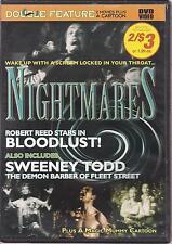 NIGHTMARES BLOODLUST/SWEENEY TODD (DVD,2009)