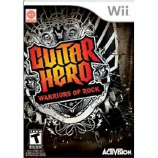 SEALED Wii Guitar Hero 6 Warriors of Rock VIDEO GAME DISC ONLY nintendo NEW band