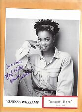 Vanessa Williams-signed photo-15 b