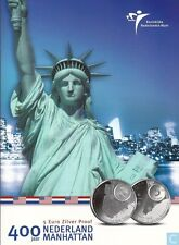 5 euro 2009 Manhattan zilver Vijfje Nederland Holland PP - Proof in Blister