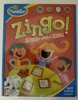 Zingo! Bingo with a Zing Game New Free Shipping