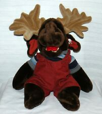 Ganz Bros. Moogy Moose Full Body Hand Puppet DK. Brown