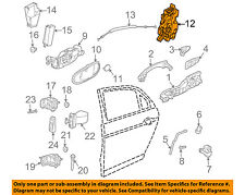 JAGUAR OEM 03-09 XJ8 Rear Door-Lock or Actuator Latch Release C2C30698