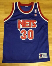 Vintage Champion New Jersey Nets Kerry Kittles Youth Jersey Size Large 14-16