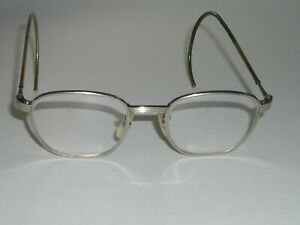 48-20 VINTAGE BAUSCH & LOMB WRAP-AROUNDS CLEAR BL GLASS SAFETY EYEGLASSES