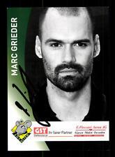 Marc Grieder Autogrammkarte EHC Olten Original Signiert Handball + A 166297