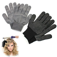 1Pair Heat Proof Resistant Protective Gloves for Hair Styling Tool Straightener