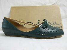 Nina Size 8 M Joelynn Pine Leather Flats New Womens Shoes