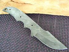 Damast Messer Damastklinge Damascus blank blade damastklinge Damaszener Klinge