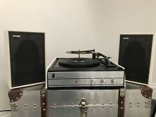 Fidelity UA4  Vintage Vinyl Record Player And Original Speakers. Working