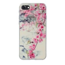 Clear Patterned Soft TPU Rubber Clear Silicone Gel Back Skin Case Cover