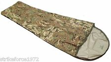 NEW - Military Issue Waterproof MTP Multicam Camo Bivi Bag - Sleeping Bag Cover