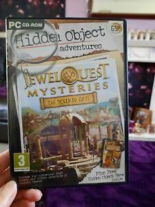 Jewel Quest Hidden Object Adventures PC CD-ROM