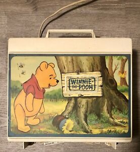 Winnie the Pooh Record Player Turntable Walt Disney Vintage Sears - For Parts