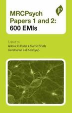 New - MRCPsych Paper 1 and 2: 600 EMIs (Postgrad Exams) by Ashok G. 1st Edition