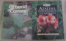 Lot of 2 Sunset Gardening Books Ground Covers Azaleas Rhododendrons Camellias