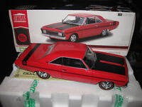 1/18 GREENLIGHT DDA 1970 CHRYSLER VALIANT VG PACER 245 HEMI RED  LTD ED OF 708